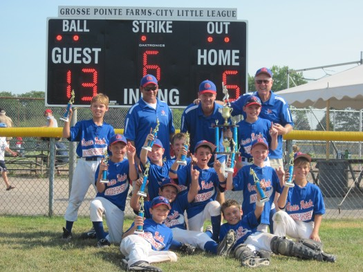 2011 - 9U Tournament Team