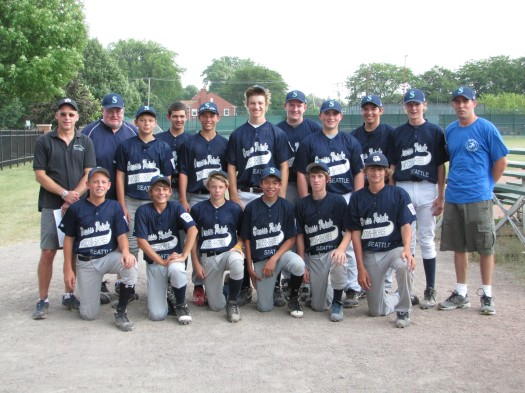 2011 - Junior League Tournament Team