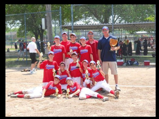 2011 - 12U Kite Monroe Memorial Tournament Champions
