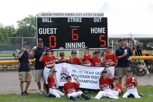 2010 - 11U District Champions