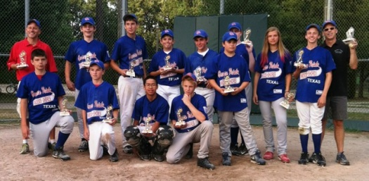 Rangers - 2012 Junior League Champions