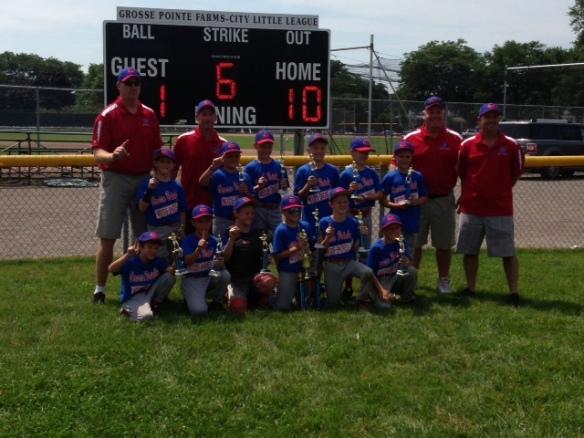 2013 Grosse Pointe Woods Shores Little League