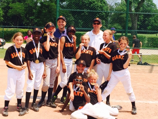 2014 Minor League Softball Champions – Giants