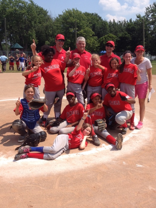 2014 Major League Softball Champions – Angels
